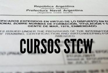 CURSOS STCW EN CORRIENTES