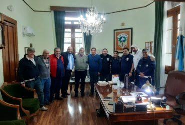RÍO NEGRO: REUNIÓN CON EL GOBERNADOR