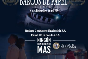 PROYECCION DOCUMENTAL BARCOS DE PAPEL