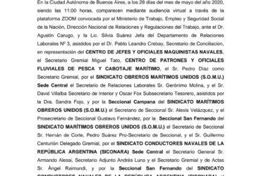 ACUERDO CÁMARA DE ARENA Y PIEDRA BUENOS AIRES 29-05