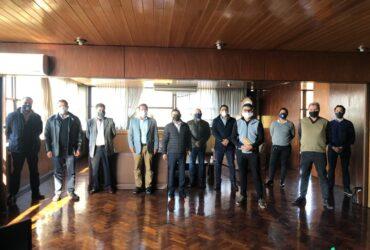 Reunión en la Subsecretaría de Puertos, Vías Navegables y Marina Mercante