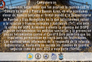IMPORTANTE : SECTOR ARENA Y PIEDRA BUENOS AIRES