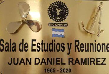 EMOTIVO HOMENAJE AL COMPAÑERO JUAN DANIEL RAMIREZ