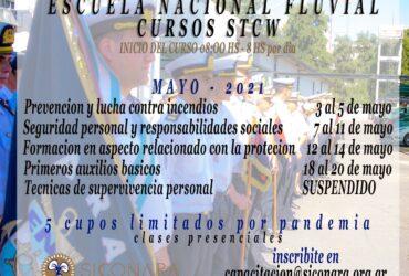 CURSOS STCW EN LA ESCUELA NACIONAL FLUVIAL