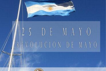 25 de mayo: Revolución de Mayo