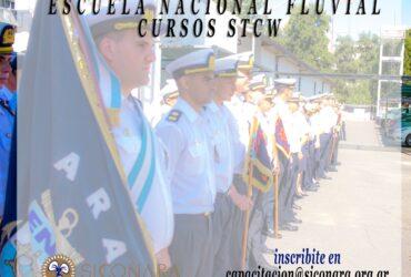 OCTUBRE : CURSOS STCW EN LA ESCUELA NACIONAL FLUVIAL